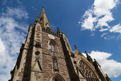 Church in Birmingham Royalty Free Stock Photos