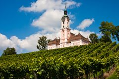 Church Birnau, Germany Royalty Free Stock Photo