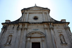 Church of the Birth of the Virgin Mary, Prcanj Royalty Free Stock Photo