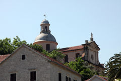 Church of the Birth of the Virgin Mary, Prcanj Stock Photo