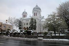 Church Biserica Buna Vestire in Brasov Stock Images