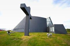 Church of Blönduós, Iceland Royalty Free Stock Images