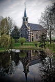 Church Blankenham. At the outskirts of the Weerribben National Park in the Netherlands lies the village of Blankenham. Blankenham originated when the township Stock Photos