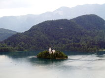 Church of Bled Royalty Free Stock Images