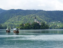 Church of Bled Royalty Free Stock Photography