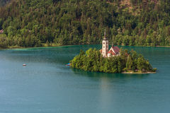 Church of Bled Royalty Free Stock Photos