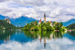 Church of Bled Royalty Free Stock Photo
