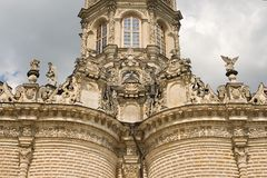 Church of the Blessed Virgin in Dubrovitsy Royalty Free Stock Photography