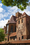 Church of the Blessed Virgin Mary in the Castle of Malbork Royalty Free Stock Image