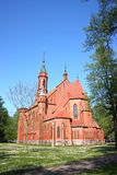 Church of the Blessed Virgin Mary in Druskininkai. Lithuania Stock Images