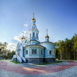The church of the Blessed Virgin Mary Royalty Free Stock Images