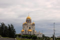 Church on Blood in Ekaterinburg, Russia Stock Photo