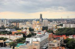 Church on Blood in Ekaterinburg, Russia Royalty Free Stock Photography