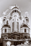 Church on Blood in Honor of All Saints Resplendent in the Russia Royalty Free Stock Image