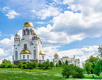 Church on Blood in Honor of All Saints Resplendent in Russia, Yekaterinburg Royalty Free Stock Images