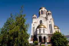 The Church on Blood in Honour of All Saints - Ekaterinburg - Russia. The Church on Blood in Honour of All Saints in Ekaterinburg - Russia Stock Images