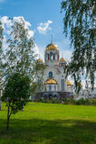The Church on Blood in Honour of All Saints Resplendent in the Russian Land in Yekaterinburg, Russia. Stock Photo