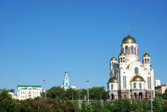 The Church on the Blood, Russia Royalty Free Stock Photo
