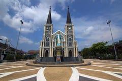 Church with blue sky Stock Photos