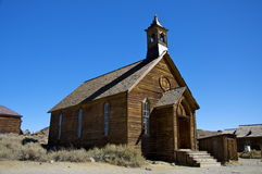 Church at Bodie Stock Photography