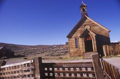 Church in Bodie, California, Ghost town Stock Photo