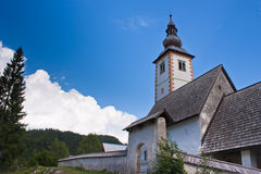 Church in Bohinj Stock Photo