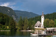 Church in Bohinj Royalty Free Stock Image