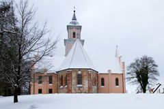 Church in Boitzenburg Stock Photography