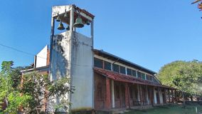 Church in Bolivia, south America. Royalty Free Stock Images