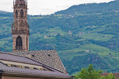 Church, bolzano, italy Royalty Free Stock Images