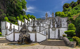 Church Bom Jesus do Monte in Braga, Portugal Stock Image