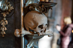 Church of Bones Stock Image