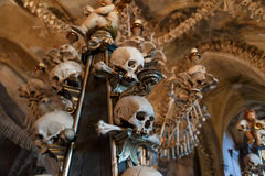 Church of Bones Stock Images