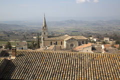 Church Bonnieux Village, Provence, France Stock Photos