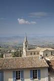Church Bonnieux Village, Provence, France Stock Image