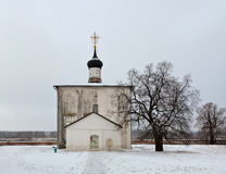 The Church of Boris and Gleb built in 1152 Stock Photos