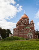 Church in Borodino Savior Convent. Russia stock photos