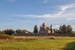 Church in Borodino Savior Convent. Russia Royalty Free Stock Photography