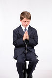 Church Boy Royalty Free Stock Image