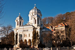 Church in Brasov royalty free stock photography