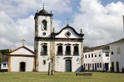 Church. Brazil Royalty Free Stock Images