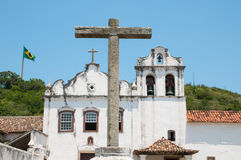 Church in Brazil Royalty Free Stock Image