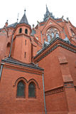 Church Breclav - Navstiveni pany Marie (saint Merry visit) Stock Photo