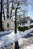The church at Breganzona near Lugano on Switzerland Stock Image