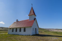 Church Breidavik, Iceland Stock Images