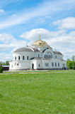 Church in Brest. Sacred Nikolay's church in the Brest fortress Royalty Free Stock Photography