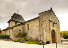 Church of Bretenoux France Royalty Free Stock Image