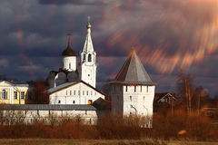 Church in bright light Royalty Free Stock Photography
