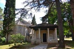 Church in Brijuni - Croatia Stock Image