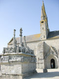 Church in Brittany Stock Photography